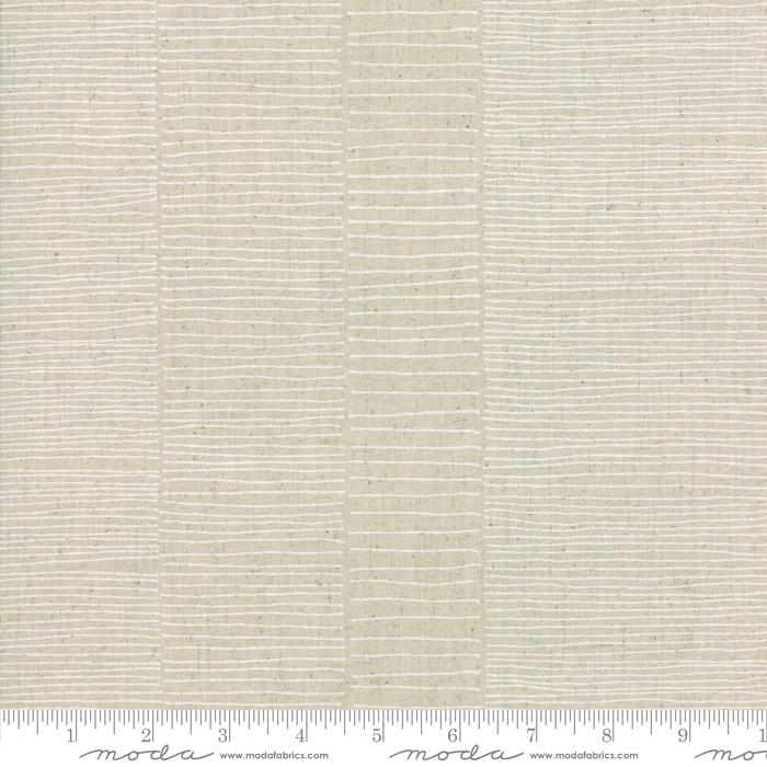 Mochi Linen: Flax White - Zen Chic