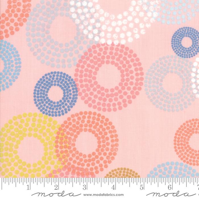 1690 17 Coral Breeze Dottie Circles Moda