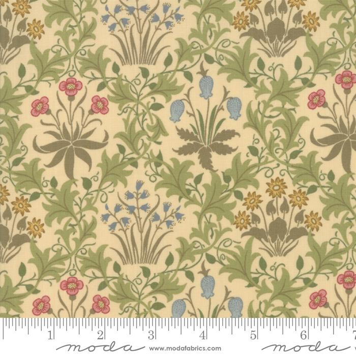 May Morris Studio Cream - 7341-11 - Celandine 1896