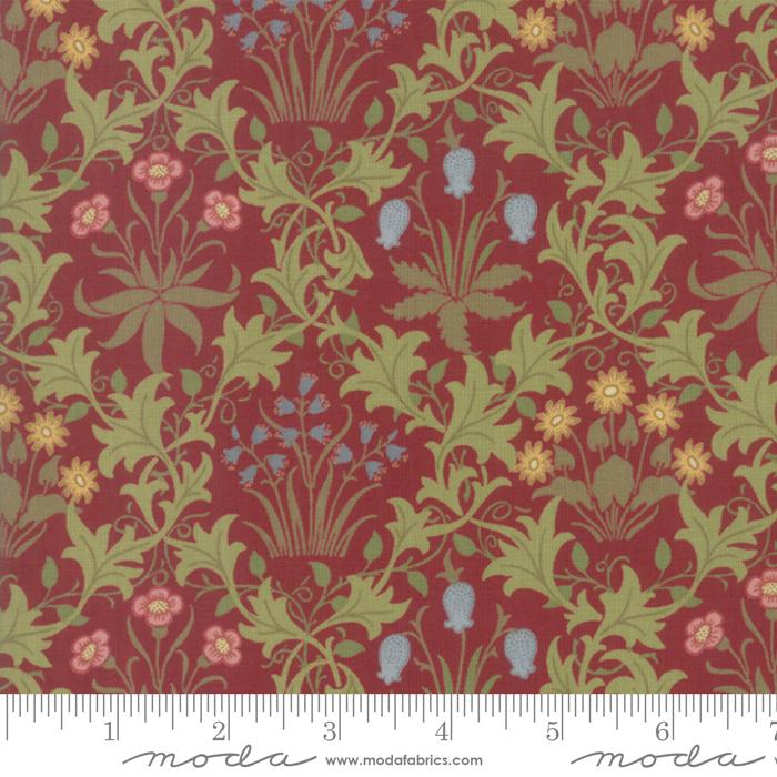 May Morris Studio Crimson - 7341-13 - Celandine 1896