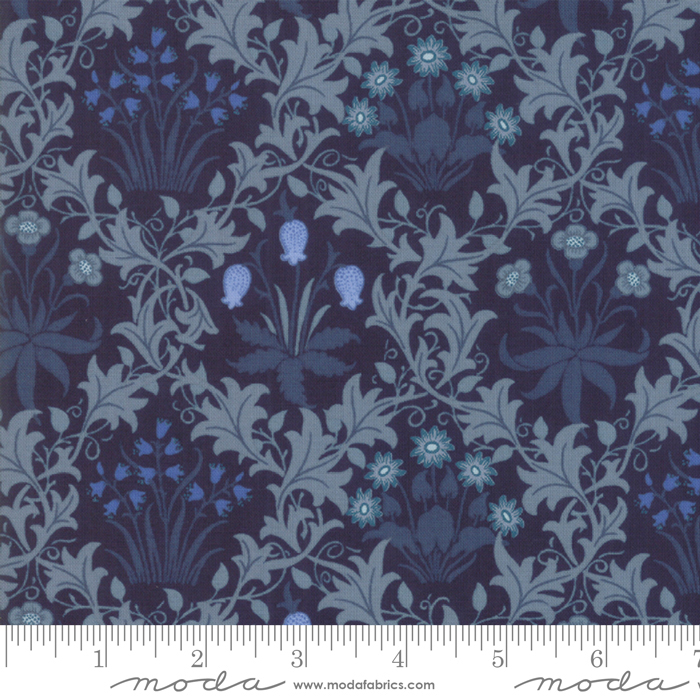 May Morris Studio-  Indigo - 7341-16