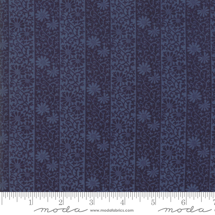 May Morris Studio-  Indigo - 7343-21