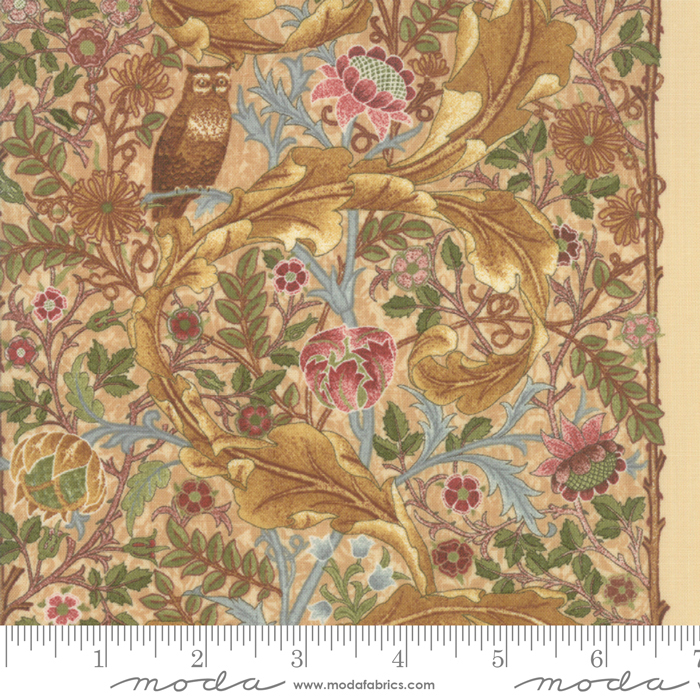 May Morris Studio Cream - 7344-11 - The Owl 1895