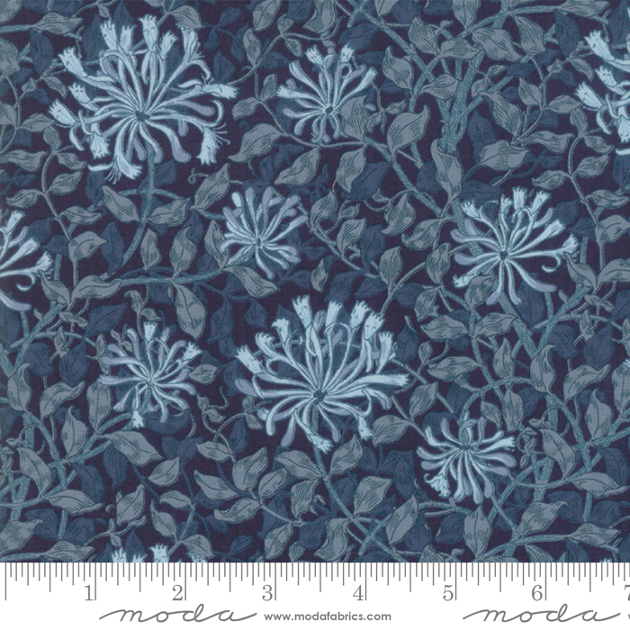 May Morris Studio - Indigo - 7347-17