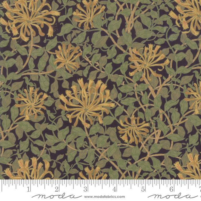 May Morris Studio Ebony - 7347-18 - Honeysuckle 1883
