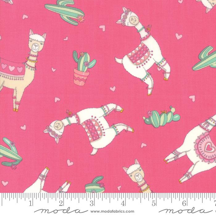 Llama Love Rosy Pink