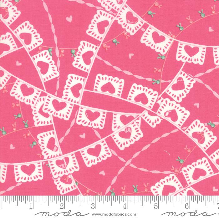 Llama Love Rosy Pink Fat Quarter