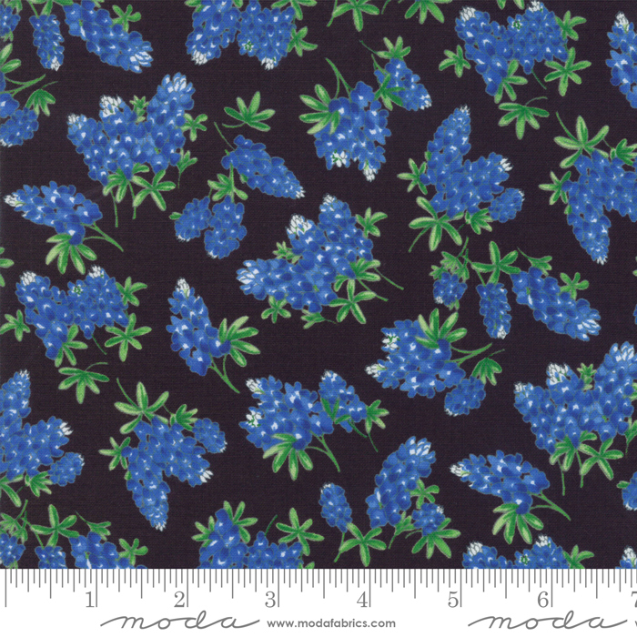 Fields of Blue Black