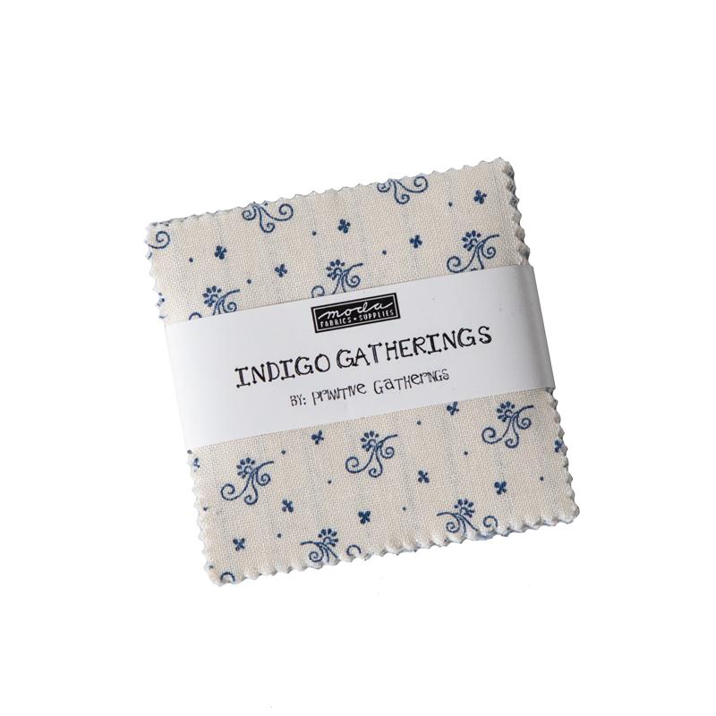 Indigo Gatherings Mini Charm