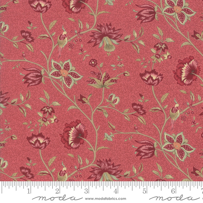 Le Beau Papillon 13861-16 Faded Red