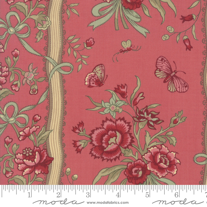 Le Beau Papillon 13869-16 Faded Red