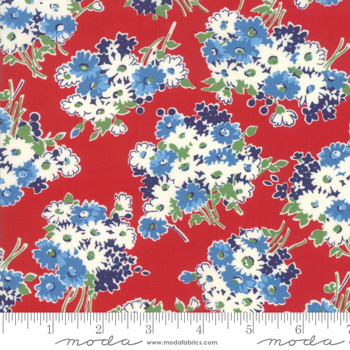Moda - American Jane-Good Times-Floral Bouquet/Red - 21771 12