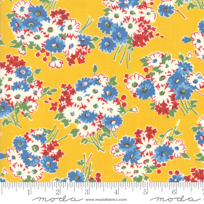 Moda - American Jane-Good Times-Floral Bouquet/Yellow - 21771 14
