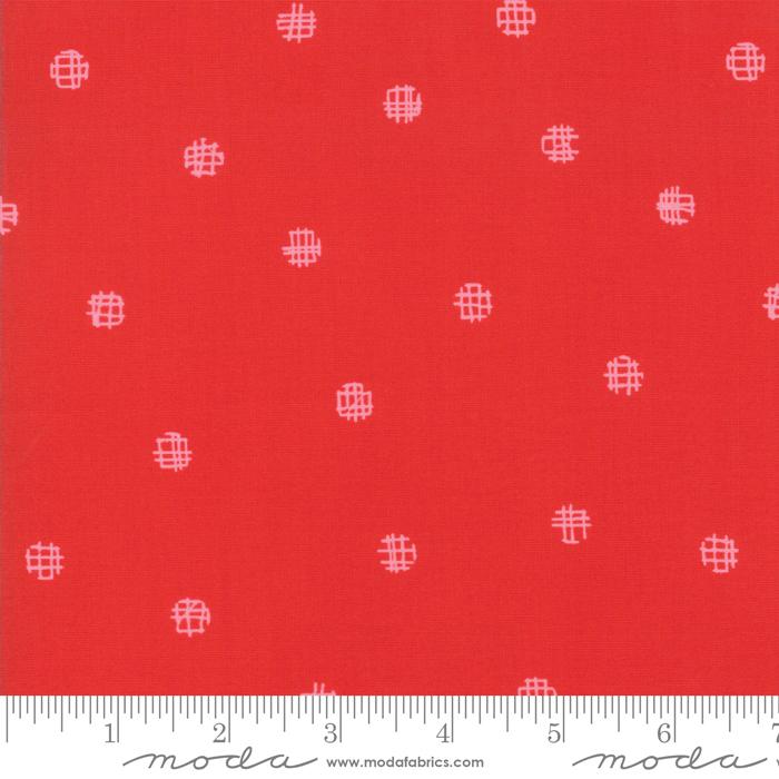 Just Red 1704-12 Cross My Dots Lipstick