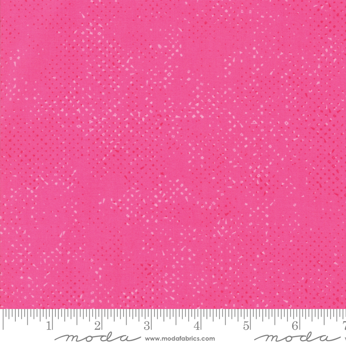 Just Red 1660-98 Spotted Hot Pink