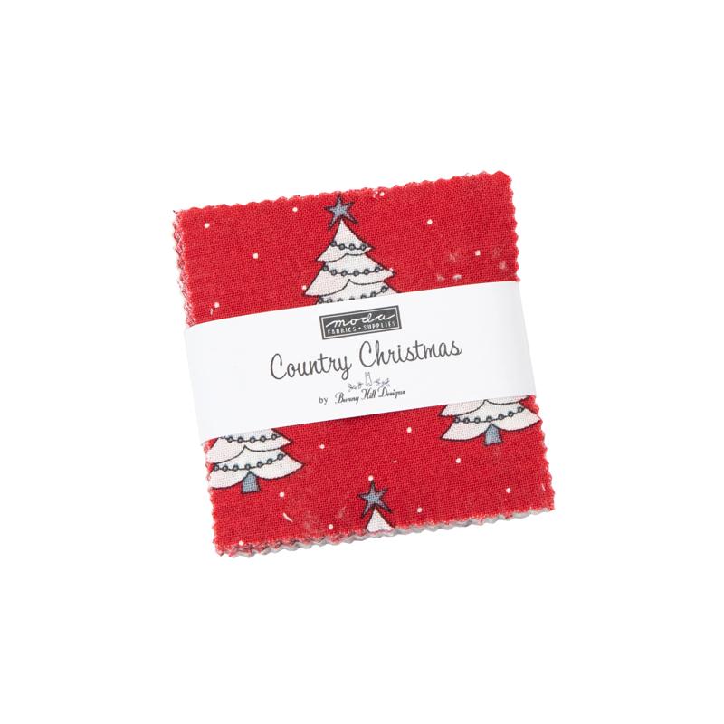 Country Christmas Mini Charm