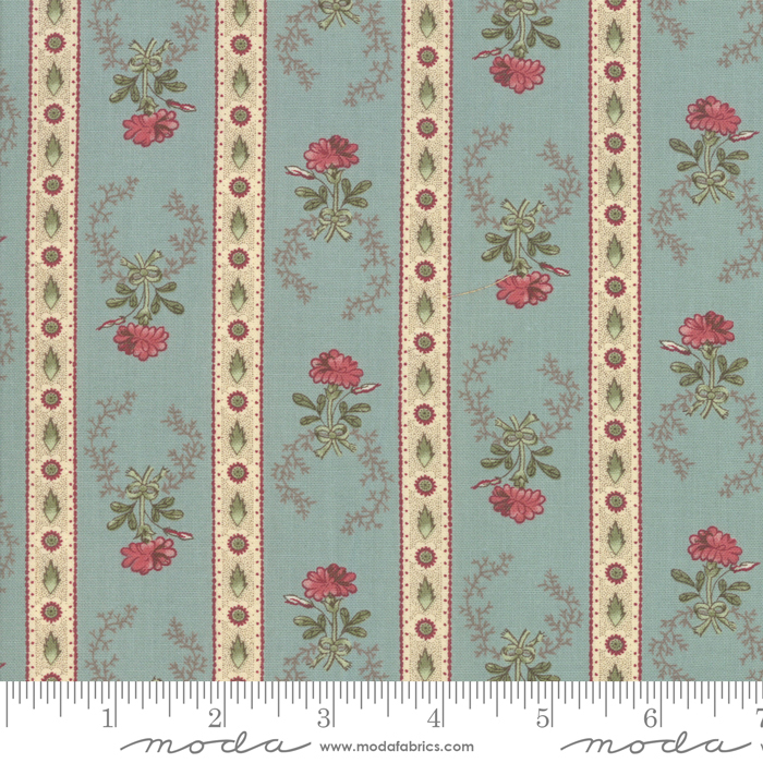 Regency Romance Ambleside Border Stripe