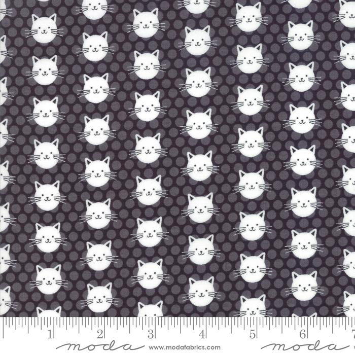 Midnight Magic : Kitty Kitty Midnight - #24083-14 - April Rosenthal of Prarie Grass Patterns