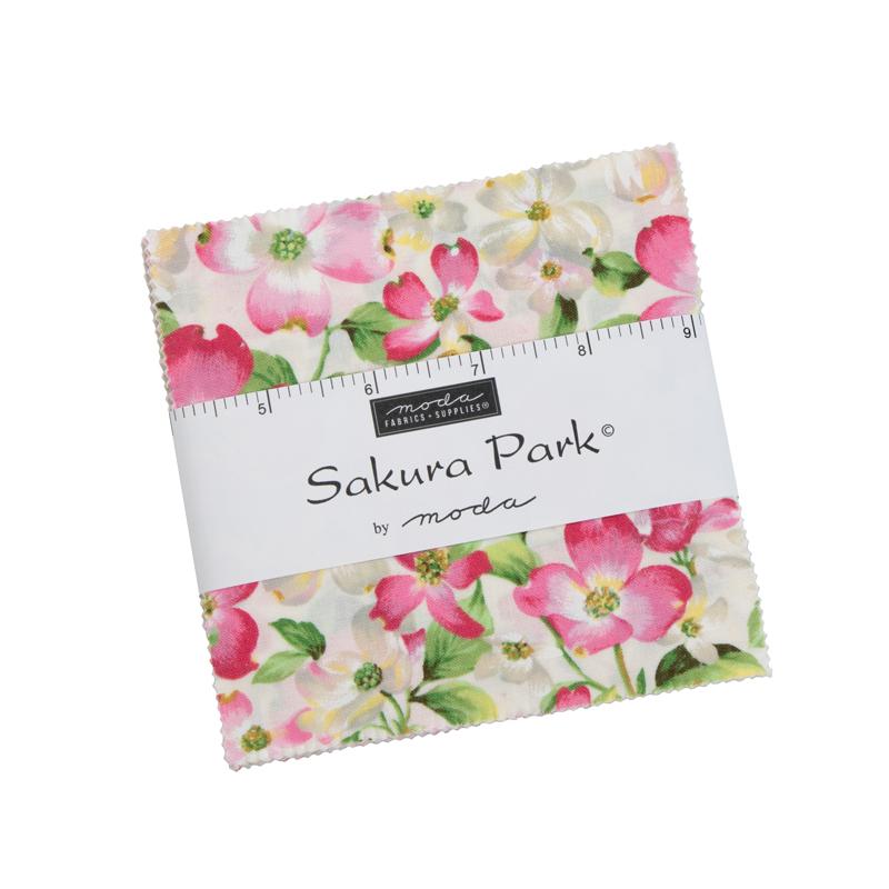Sakura Park Charm Pack