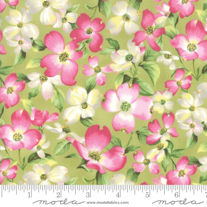 7 x WOF Leaf Cherry Blossom 33480 14 Sakura Park by Moda Fabrics