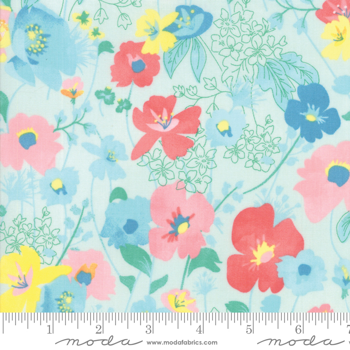 Gypsy Soul Soothing Blue Floral