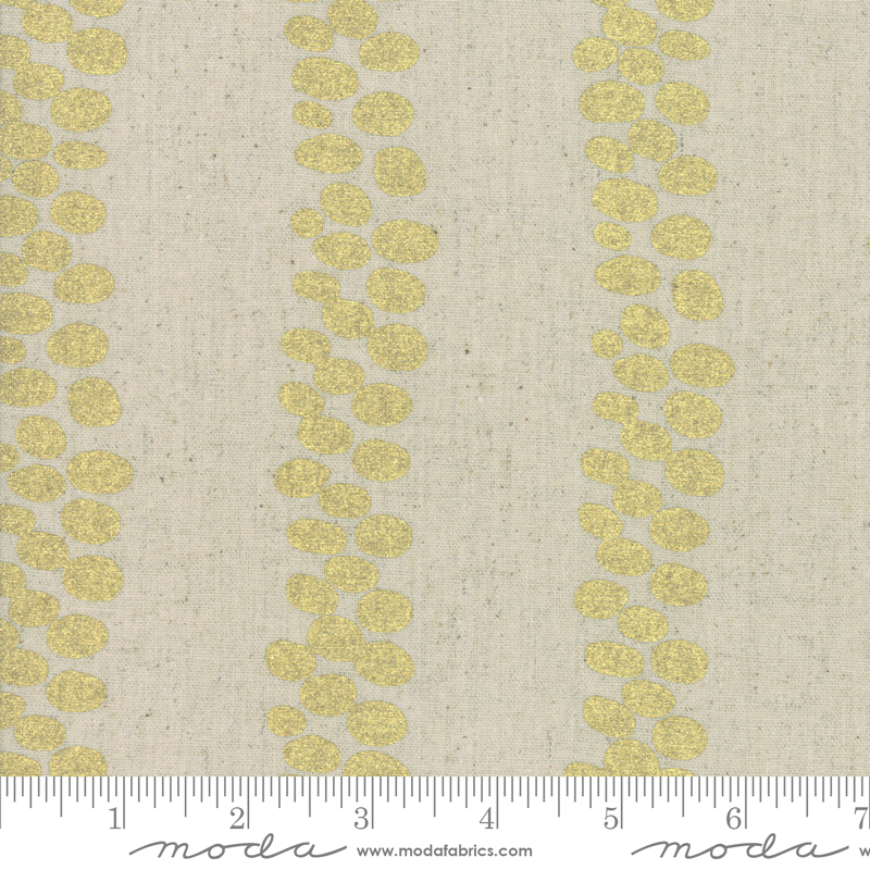 Chill Mochi Linen Trails Linen Gold (70% cotton/30% linen) - COMING SO0N