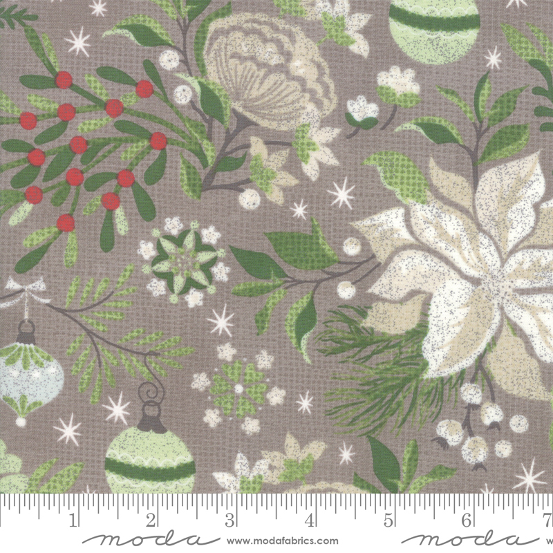 BasicGrey - Naughty Or Nice - Floral - Stone