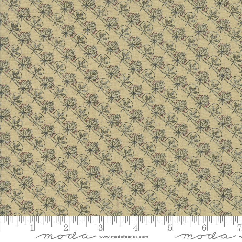 Snowbound Winter Ribbon Fawn 7025-15