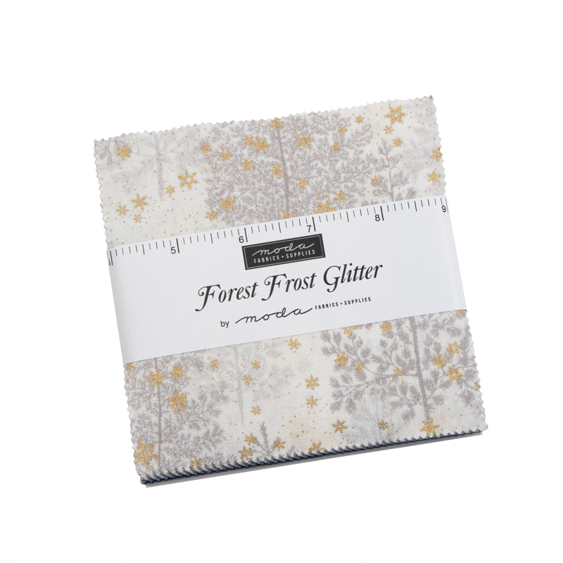 Forest Frost Glitter Charm Pack - Moda