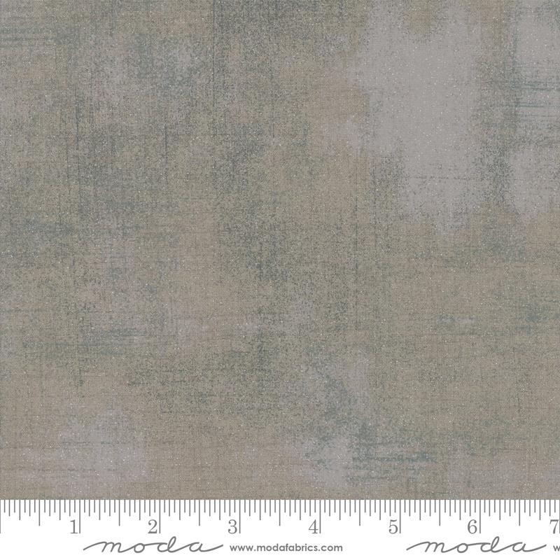 Moda Grunge Glitter Grey Couture