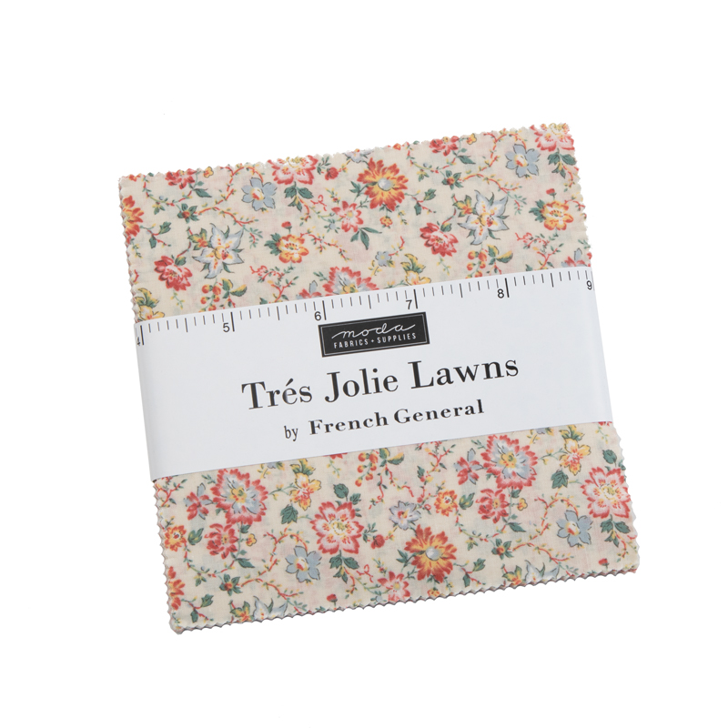 Tres Jolie Lawns Charm Pack