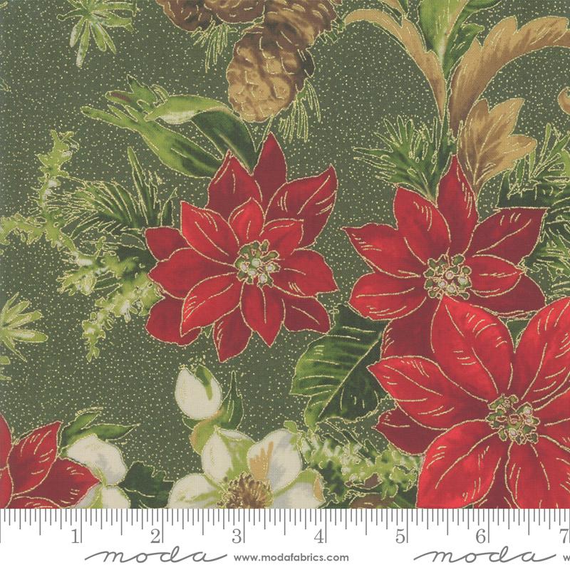 Poinsettias Pine Evergreen