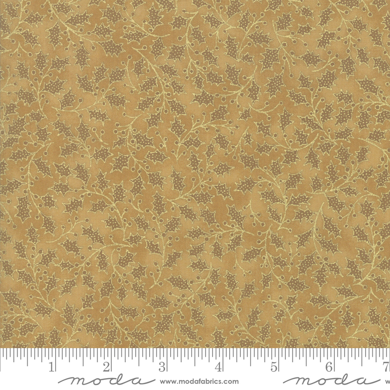 Poinsettias Pine Gold