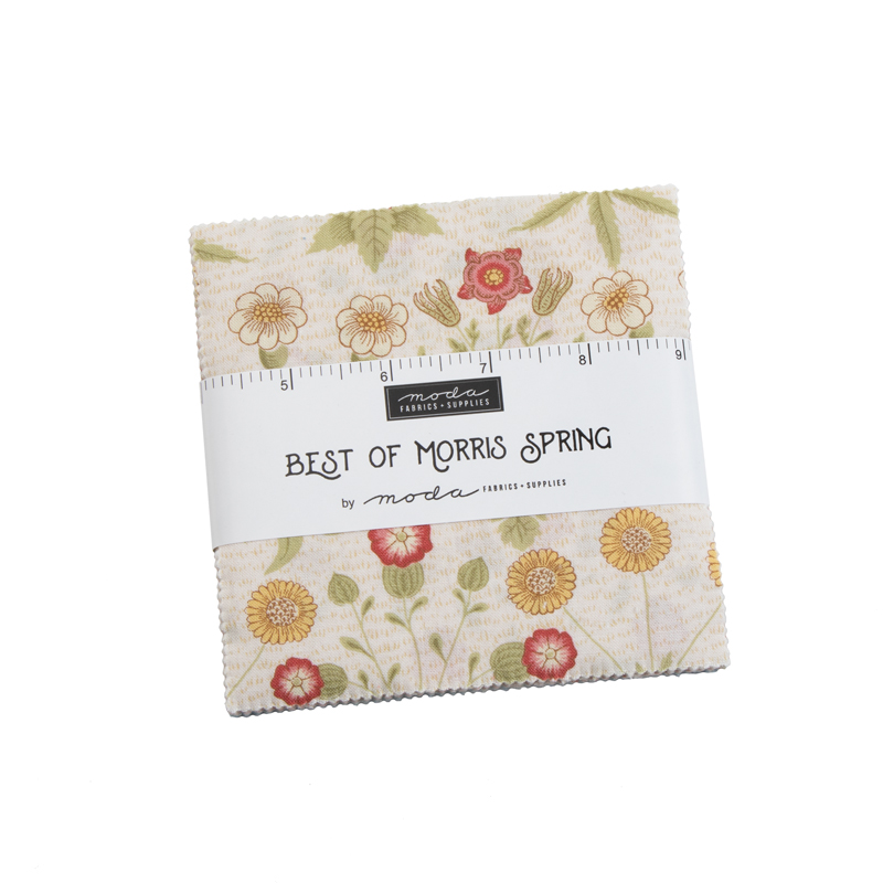 Best Of Morris Spring Charm Pack by Moda 33490PPS