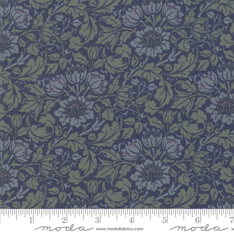 Best Of Morris, Flowering Scroll 1908, Fall Indigo 33492 25