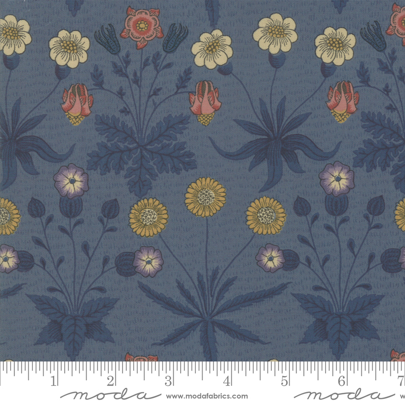 Best Of Morris Fall Indigo 33493-21