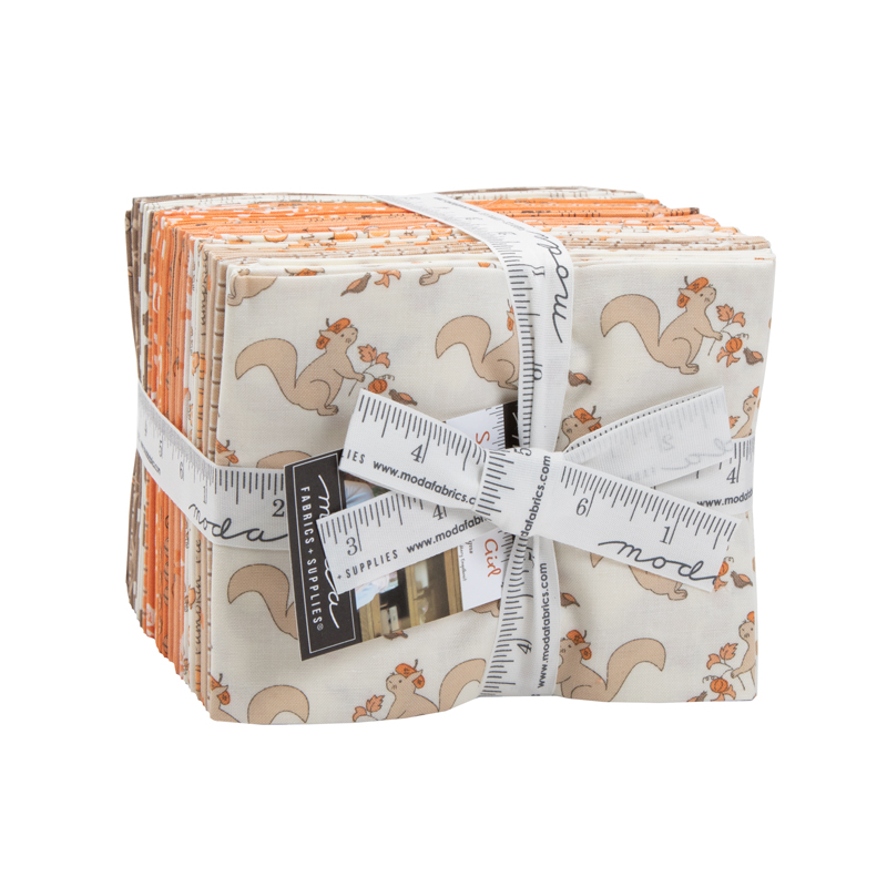 Moda Squirrelly Girl 2970 AB Fat Quarter Bundle - 27 pcs by Bunny Hill Designs