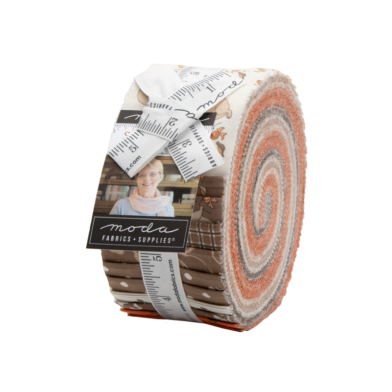 Moda Squirrelly Girl Jelly Roll 2970JR from Bunny Hill Designs