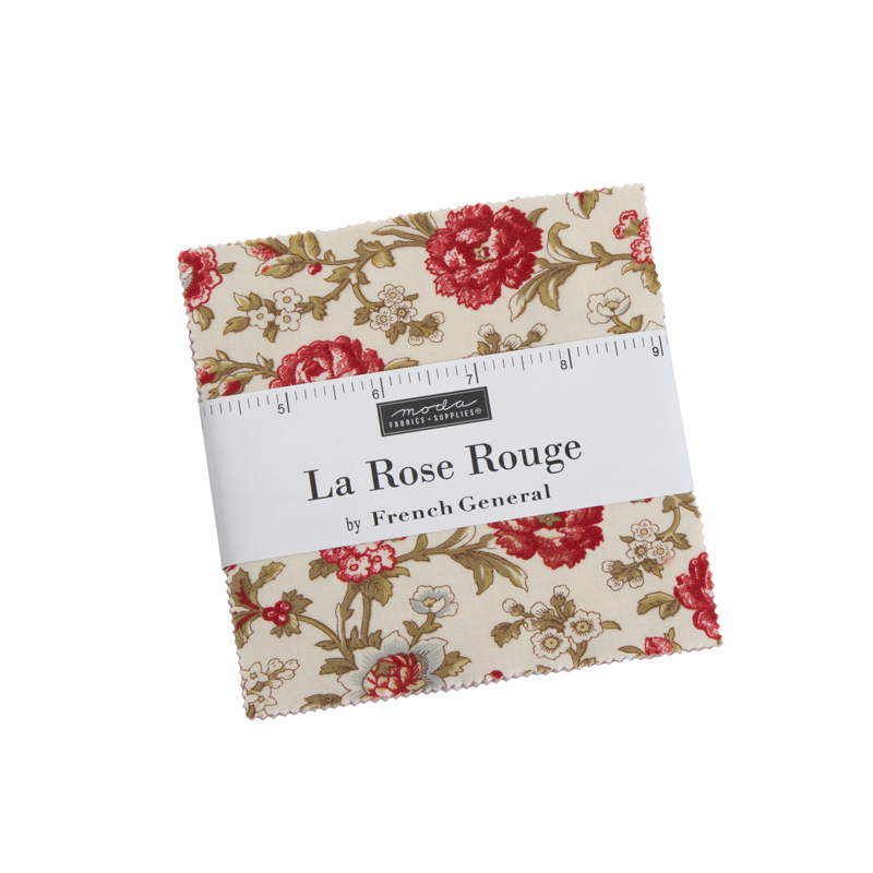 La Rose Rouge Charm Pack