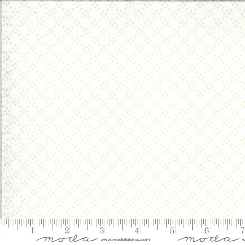 Dover Tonal Dot Linen White