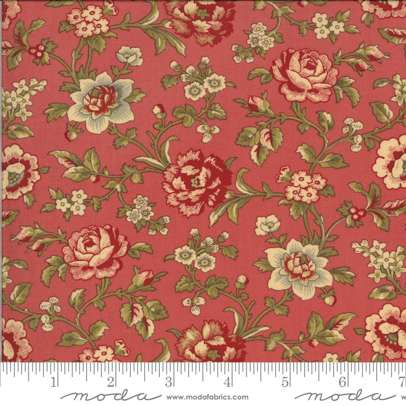 La Rose Rouge Faded Red