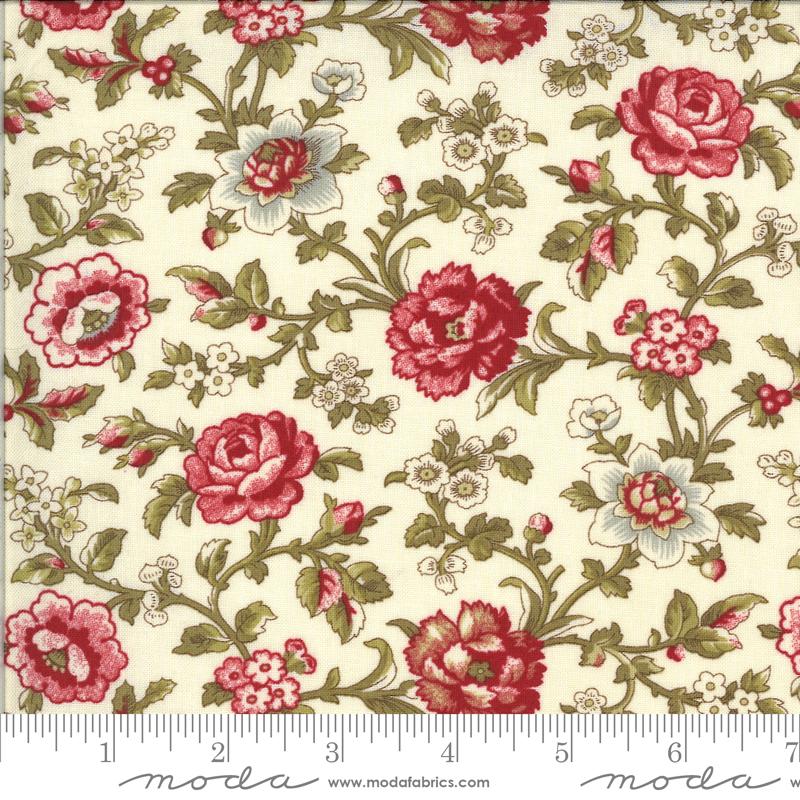 La Rose Rouge -  Pearl w/roses