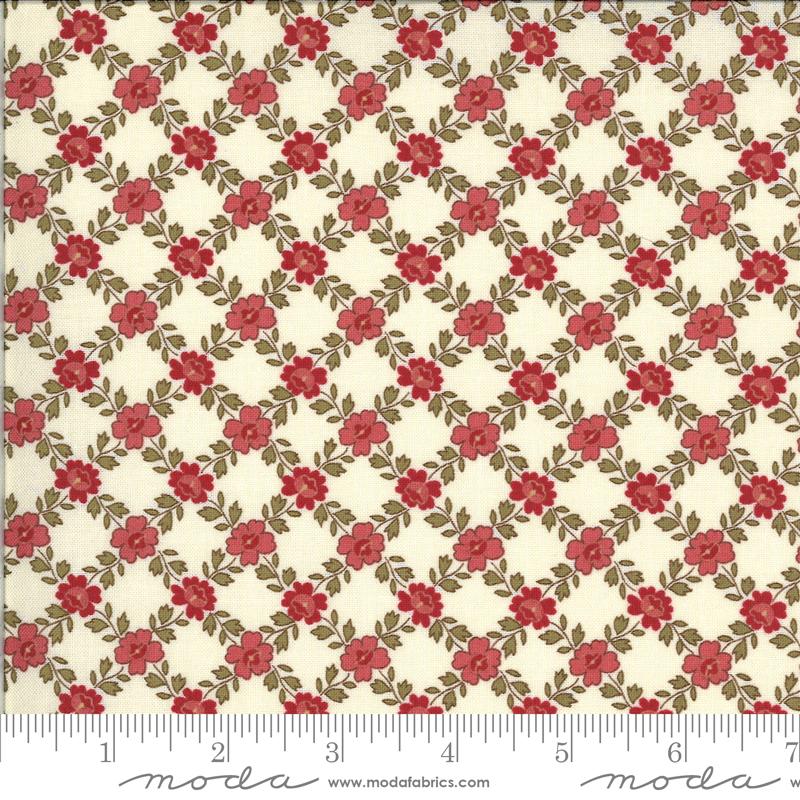 La Rose Rouge - Pearl w/lattice work