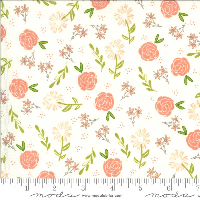 37591 11 Ivory Wild Rose Balboa Moda