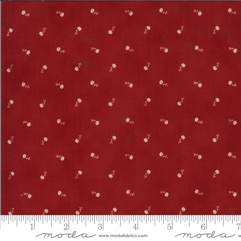 Moda - Redwork Gatherings Red