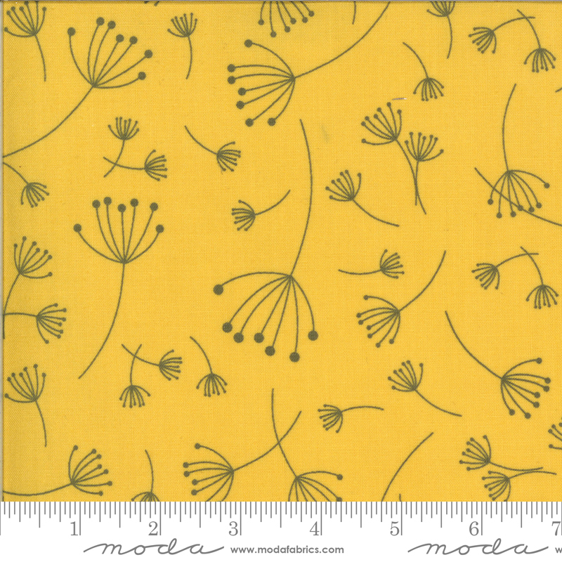 Quotation Mustard Floral
