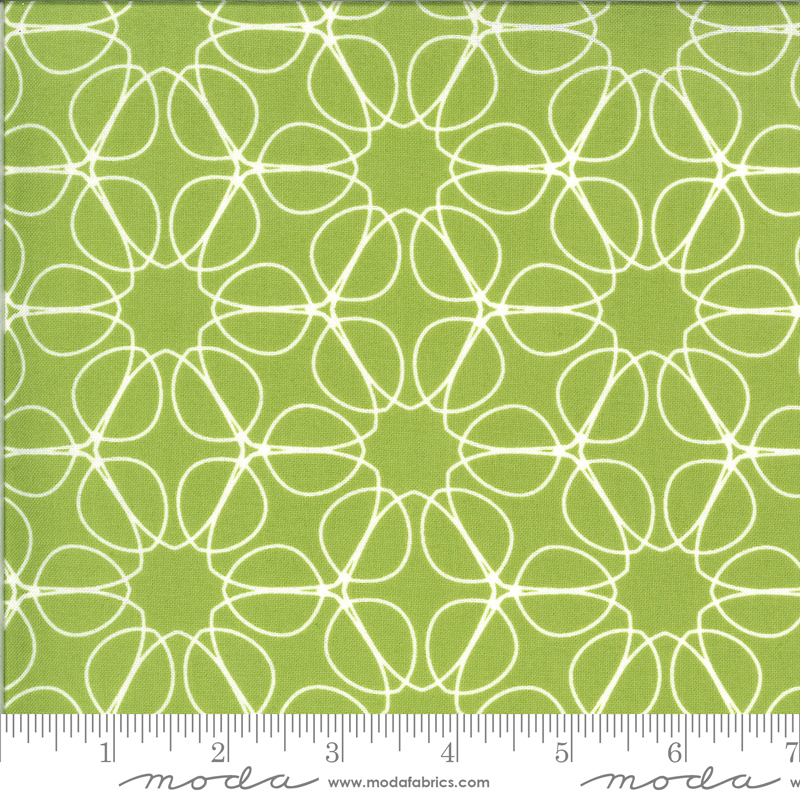 Moda 1733 19 Quotation Pistachio by Zen Chic