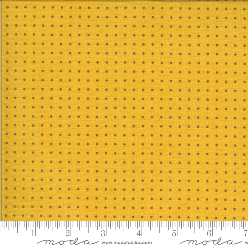 Quotation Dots 1736 18 Mustard