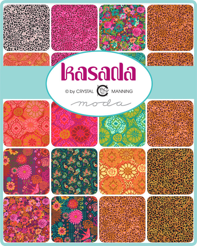 Kasada 13pc Fat Quarter Bundle