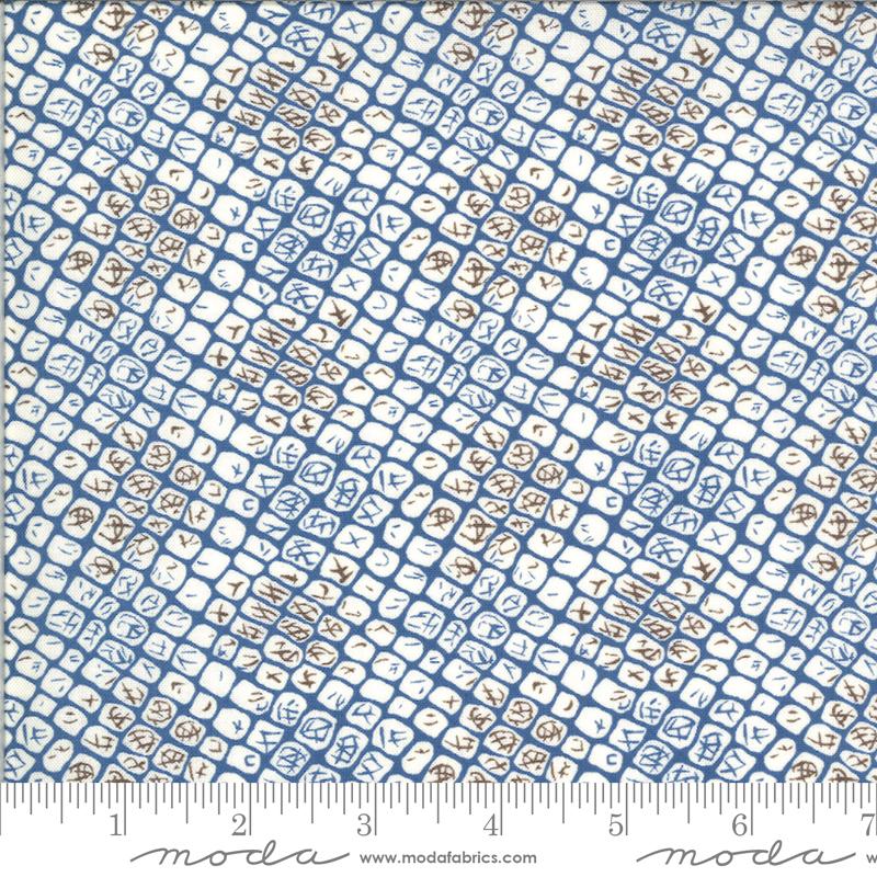Moda Winkipop Coral 18195 13 Deep Blue Water